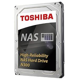 8TB Festplatte Toshiba N300 - NAS TOSHIBA HDWN180UZSVA