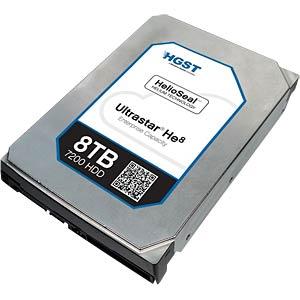 Desktop hard drive, 8TB, HGST Ultrastar He8 HGST 0F23267/HUH728080ALE600