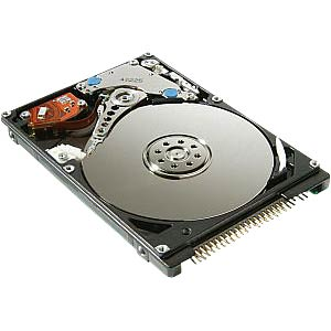 "Internal hard drive 2.5"" ATA 80 GB 5400 rpm FREI"
