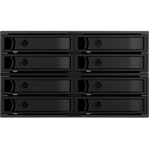 Backplane für 8x 2,5 HDD/SSD in 2x 5,25 ICYBOX IB-2281MSK