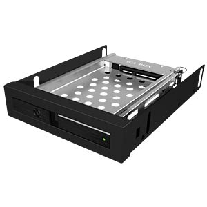 Trayless, removable rack for 2.5 SATA ICYBOX 20917