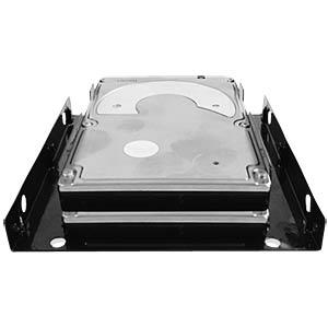 2x 2.5er SSD/HDD in einem 3.5er Einschub ICYBOX 70643