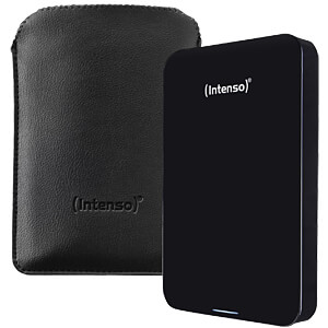 "External hard drive 2.5"", USB 3.0, 500 GB, leather pouch INTENSO 6023530"