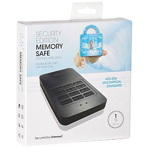 Intenso Memory Safe 1 TB USB 3.0 AES, sw INTENSO 6029562