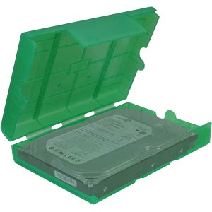 "HDD-Schutzbox 3,5""/2,5"" grün INTER-TECH 88885392"