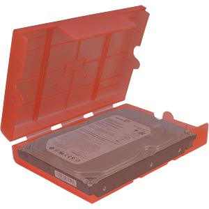 "HDD-Schutzbox 3,5""/2,5"" rot INTER-TECH 88885393"