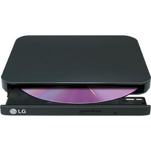LG Portable Slim DVD-Brenner USB schwarz LG GP90EB70