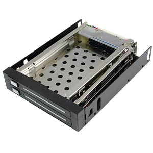 2x6,35cm (2x 2,5) SATA HDD Mobile Rack LOGILINK MR0006