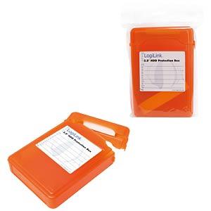 "Hard disk protection box for 1x 3.5"", orange LOGILINK UA0133O"
