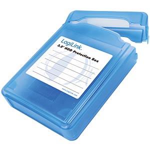 Festplatten Schutz-Box für 1x 3.5 blau LOGILINK UA0133