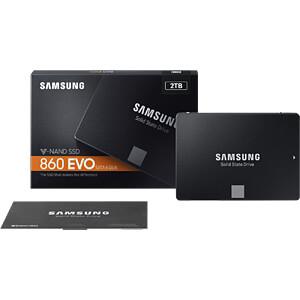Samsung SSD 860 EVO Series 2TB SAMSUNG MZ-76E2T0B/EU