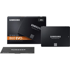 Samsung SSD 860 EVO Series 4TB SAMSUNG MZ-76E4T0B/EU