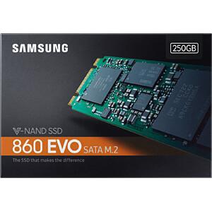 Samsung SSD 860 EVO Series 250GB M.2 SATA SAMSUNG MZ-N6E250BW