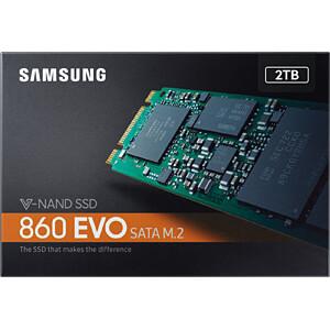 Samsung SSD 860 EVO Series 2TB M.2 SATA SAMSUNG MZ-N6E2T0BW