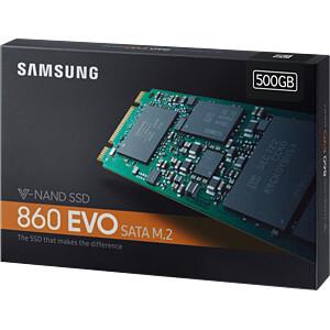 Samsung SSD 860 EVO-serie 500GB M.2 SATA SAMSUNG MZ-N6E500BW