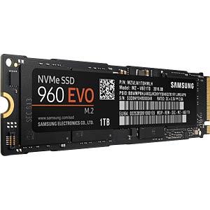 Samsung SSD 960 Evo 1TB, M.2 PCIe SAMSUNG MZ-V6E1T0BW