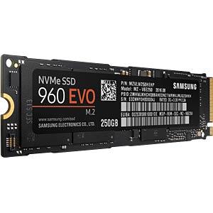 Samsung SSD 960 Evo 250GB, M.2 PCIe SAMSUNG MZ-V6E250BW