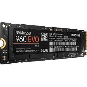 Samsung SSD 960 Evo 500GB, M.2 SAMSUNG MZ-V6E500BW