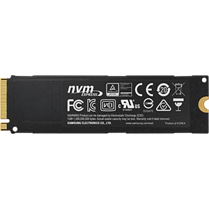 Samsung SSD 960 Pro 2TB, M.2 PCIe SAMSUNG MZ-V6P2T0BW