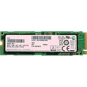Samsung SSD PM961 NVMe 128GB M.2 PCIe SAMSUNG MZVLW128HEGR-00000