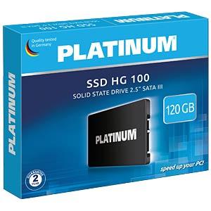 Platinum HG 100 SSD 120GB, SATA PLATINUM 125819