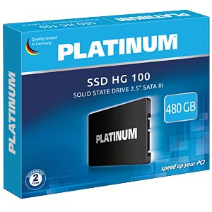 Platinum HG 100 SSD 480GB, SATA PLATINUM 125871
