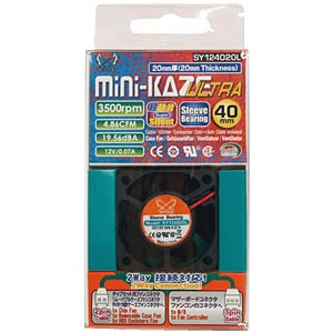 Scythe Mini Kaze Ultra, 40 mm SCYTHE SY124020L
