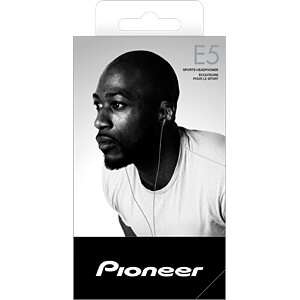 Headset, In Ear, grau PIONEER SE-E5T-H