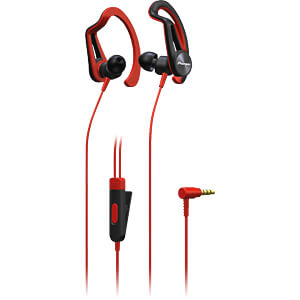 Headset, In Ear, rot PIONEER SE-E5T-R