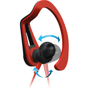 Headset, In Ear, Bluetooth®, rot PIONEER SE-E7BT-R
