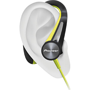 Headset, In Ear, Bluetooth®, gelb PIONEER SE-E7BT-Y