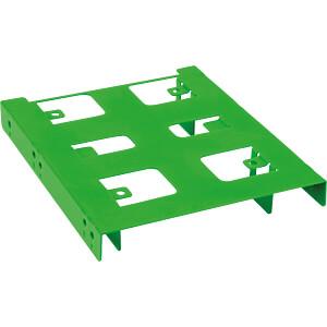 Einbaurahmen 2,5 zu 3,5 grün SHARKOON 4044951013609