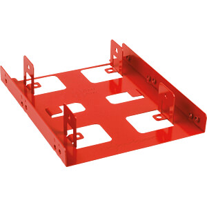 metal mounting frame 2.5 to 3.5 red SHARKOON 4044951013593