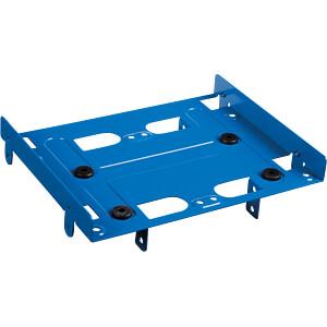 Einbaurahmen 5,25 zu 4x 2,5 / 2x 2,5 1x 3,5, blau SHARKOON 4044951013562