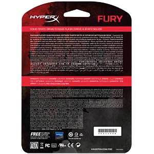 Kingston HyperX FURY SSD 120GB HYPERX SHFS37A/120G