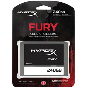 Kingston HyperX FURY SSD 240GB HYPERX SHFS37A/240G