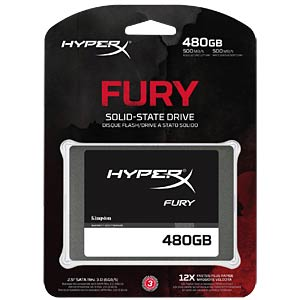 Kingston HyperX FURY SSD 480GB HYPERX SHFS37A/480G