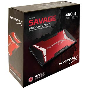 Kingston HyperX Savage SSD 480GB Kit HYPERX SHSS3B7A/480G