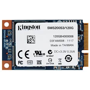 Kingston SSDNow mS200 120 GB, mSATA KINGSTON SMS200S3/120G