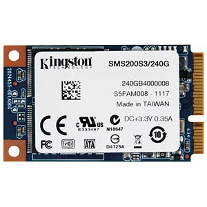 Kingston SSDNow mS200 240GB, mSATA KINGSTON SMS200S3/240G