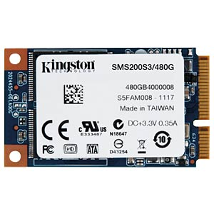 Kingston SSDNow mS200 480GB, mSATA KINGSTON SMS200S3/480G