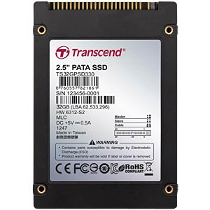 Transcend Solid-State Disk 32GB 44pin IDE TRANSCEND TS32GPSD330