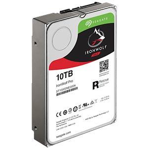 NAS-Festplatte, 10 TB, Seagate IronWolf Pro SEAGATE ST10000NE0004