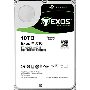 10TB Festplatte Seagate Exos - Enterprise SEAGATE ST10000NM0016
