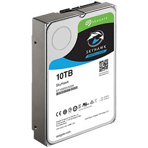 Video-Festplatte, 10 TB, Seagate SkyHawk SEAGATE ST10000VX0004