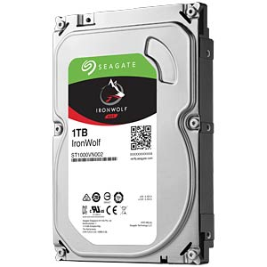 NAS hard drive, 1 TB, Seagate IronWolf SEAGATE ST1000VN002