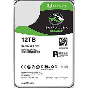 12TB Festplatte Seagate BarraCuda Pro-Desktop SEAGATE ST12000DM0007