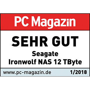 12TB Festplatte Seagate IronWolf - NAS SEAGATE ST12000VN0007