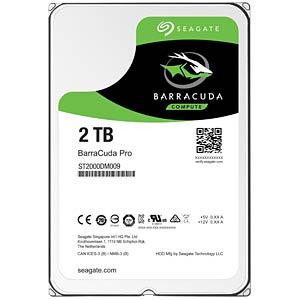 2TB Festplatte Seagate BarraCuda Pro - Desktop SEAGATE ST2000DM009
