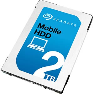 Notebook-Harddisk 2 TB, Seagate Mobile SEAGATE ST2000LM007